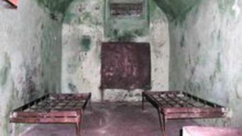 Gefängniszelle im Todestrakt in Minsk, Belarus. © Legal initiative
